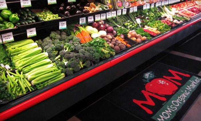 MOM's Organic Market - North Bethesda: $10 for $20 Worth of Organic Groceries at MOM's Organic Market in Rockville