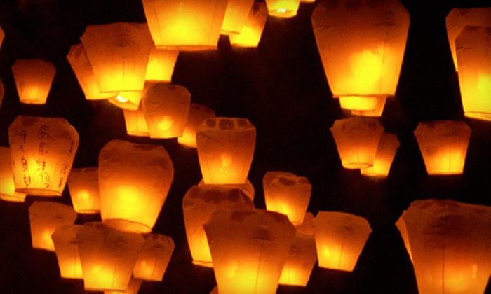 Big Fireworks: $25 for 10 Chinese Sky Lanterns from Big Fireworks ($50 Value)