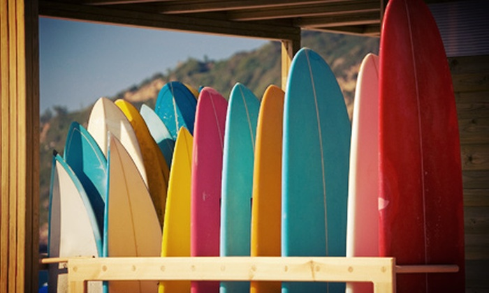 Summer Surf Lessons - Redondo Beach: Two-Hour Surfing Lesson for One or Two from Summer Surf Lessons (Up to 70% Off)