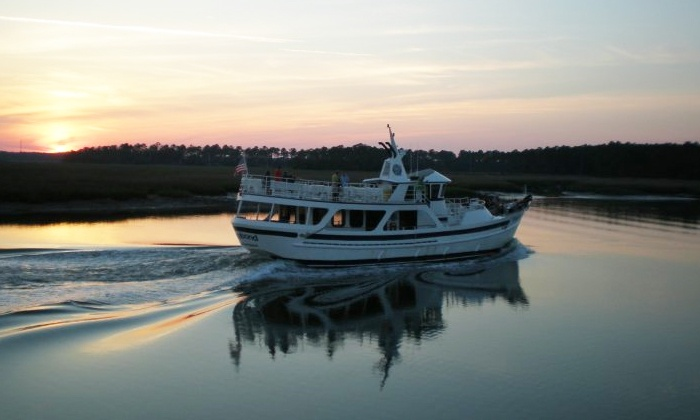 Vagabond Cruise - Hilton Head Island: $14 for an Ocean Dolphin Cruise or Sunset Dolphin Cruise with Vagabond Cruise (Up to $29.95 Value)