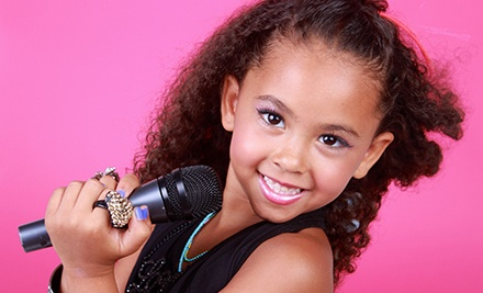 Diva Day Package for One Girl or Pop Diva Party for Up to Four Girls at GHME Productions (Up to 51% Off)