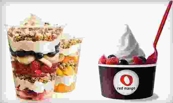 Red Mango - Tucson: $5 for $10 Worth of All-Natural Frozen Yogurt and Smoothies at Red Mango