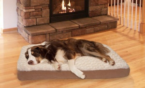 Deluxe Ultra-Plush Orthopedic Pet Bed: Deluxe Ultra-Plush Orthopedic Pet Bed