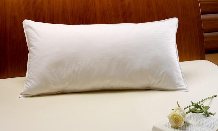 halbdaunen kissen 40 x 80 cm groupon goods. Black Bedroom Furniture Sets. Home Design Ideas