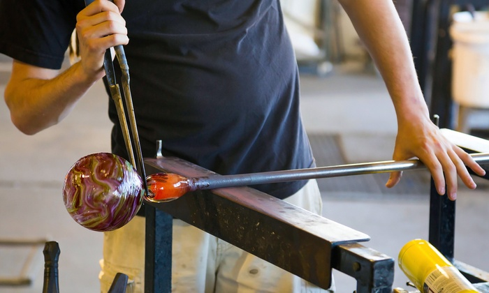 Glass-Blowing Class - South Side: Make Your Own Ornament in a Glass-Blowing Workshop
