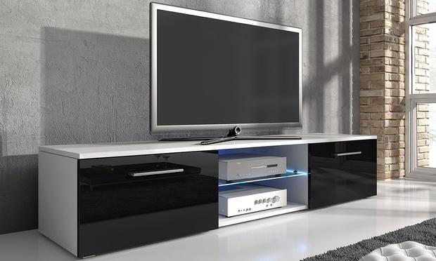 meuble tv groupon. Black Bedroom Furniture Sets. Home Design Ideas