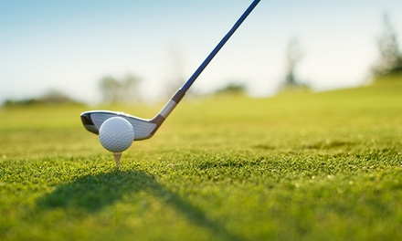 18-Hole Round of Golf for Two or Four with Cart and Range Balls at Springwater Golf Course (38% Value)