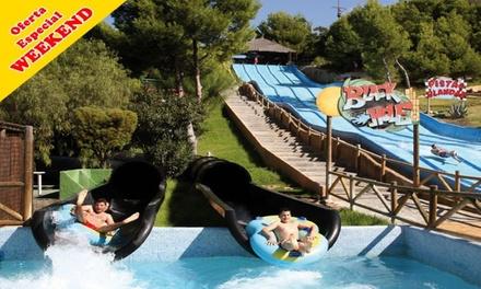Entrada al parque acuático Aqualandia los sábados y domingos hasta el 28 de julio desde 20 €
