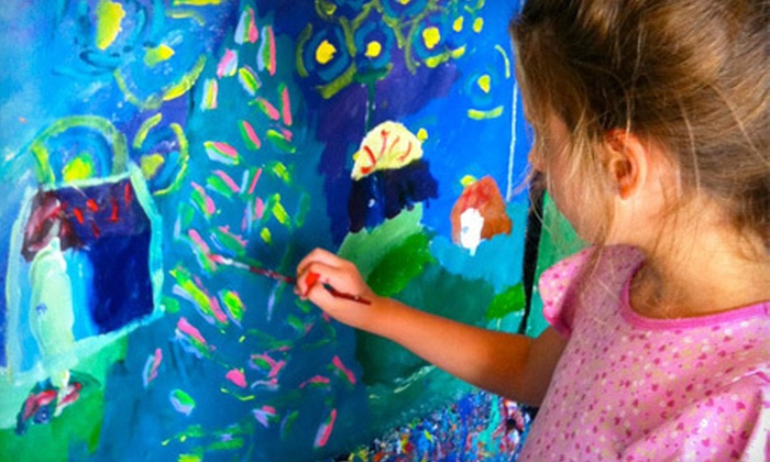 4Cats Arts Studio - Langford: $25 for Two 90-Minute Kids' Art Workshops at 4Cats Arts Studio ($50 Value)
