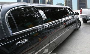 G & A Limousine Service: Four- or Six-Hour Limo Experience with a Full Bar for Up to 8 People from G&A Limousine Service (Up to 54% Off)