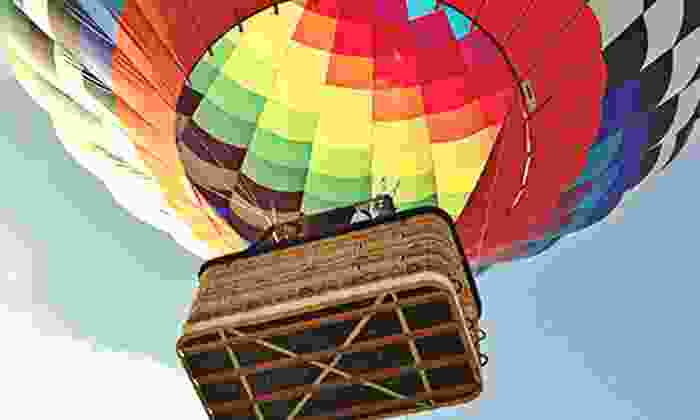 Sunrise Ballon Flights - Kissimmee: Hot Air Balloon Ride for One or Two with Picnic and Champagne from Sunrise Ballon Flights (Up to 43% Off)