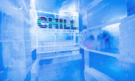 Admission for 2 or 4 with Optional Fondue or Party Package for 6 or 10 at CHILL Ice House (Up to 52% Off)