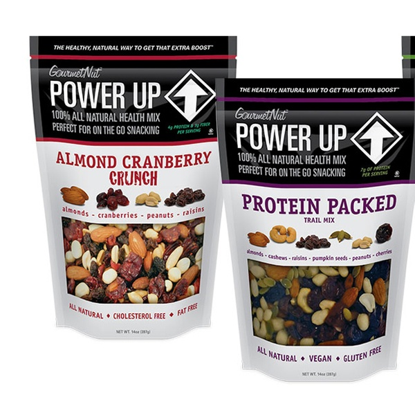 3-Pack of Gourmet Nut Power Up Trail Mix