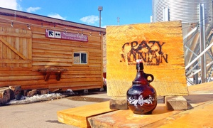 Crazy Mountain Brewing Company: Beer Flights for Two or Four or Growler with Three Fills at Crazy Mountain Brewing Company (Up to 47% Off)