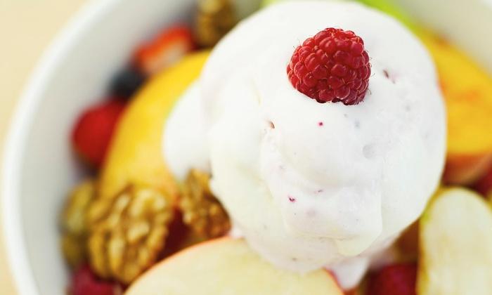 Zinga! Frozen Yogurt - Virginia Gateway: Spend $5 to Fill Your Red Cup at Zinga! Frozen Yogurt