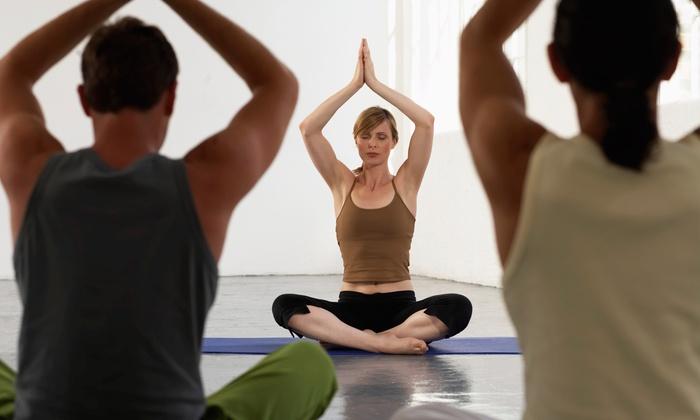 Blue Anjou Yoga Studio - Lewisville: 10 Yoga Classes from Blue Anjou Yoga and Meditation Center (65% Off)