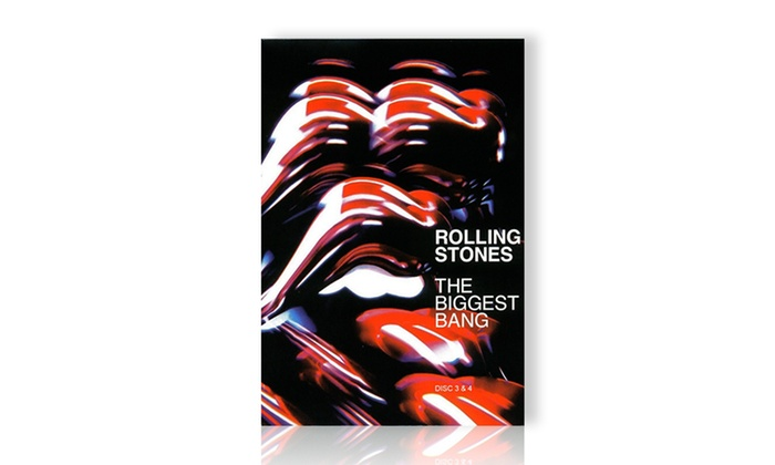 Rolling Stones' The Biggest Bang 4-DVD Set: Rolling Stones' The Biggest Bang 4-DVD Set