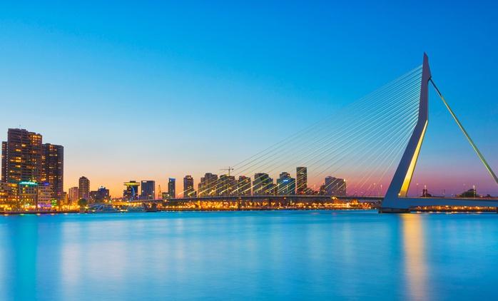 Rotterdam: 2 bis 4 Tage für Zwei inkl. Frühstück und mit opt. 1x 3-Gänge-Dinner im 4* Worldhotel Wings