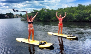 Kostal Paddle: SUP Lesson for One or Two, Private Lesson, Rental, or Summer Membership to Kostal Paddle (Up to 62% Off)