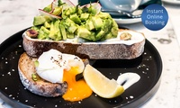 Choice of Breakfast with Cup of Coffee for One ($13) or Two People ($25) at Pelican Bar St Kilda (Up to $45.60 Value)