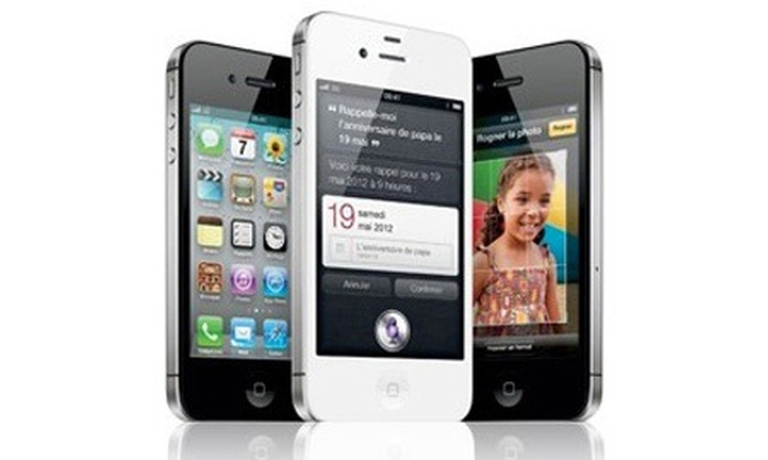 iphone 4s reconditionn groupon shopping. Black Bedroom Furniture Sets. Home Design Ideas
