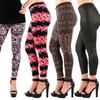 Women's Printed Leggings (6-Pack)