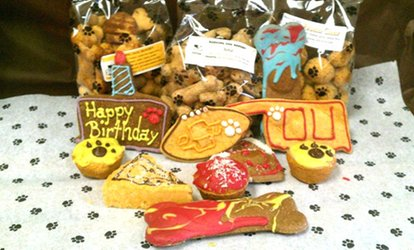 $5 for $10 Worth of Baked <strong>Pet</strong> Treats at Barking Dog Bakery