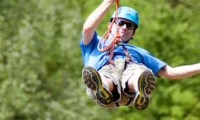 Treetop Eco-Adventure Park - North Oshawa: C$37 for Admission to a Treetop Aerial Course with Zipline at Treetop Eco-Adventure Park (C$53.09 Value)