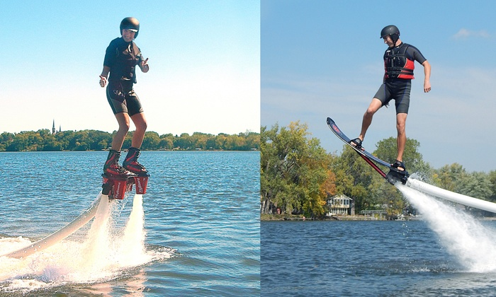 Just Add Water Flyboard - Plymouth - Wayzata: Up to 56% Off Flyboarding Experience at Just Add Water Flyboard