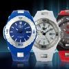32 Degrees Ridge Men's Stainless Steel Watch