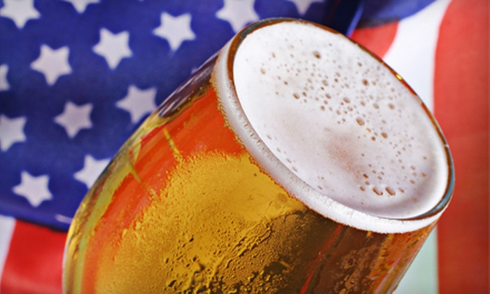 Red White & Brew Epicentre Bar Crawl - Epicentre - Rooftop 210: $8 for One Entry to Red, White & Brew Bar Crawl with T-Shirt from Pavilion at EpiCentre on Friday, July 5 ($16 Value)