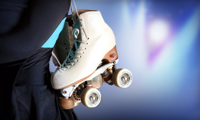 Jellybeans Skate Center - North Raleigh: Roller Skating for One or Four with Skate Rental, Popcorn, and Soda at Jellybeans Skate Center (Up to 57% Off)