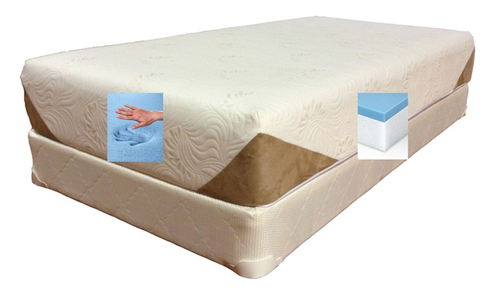 Viscologic Memory Foam Mattress Groupon Goods