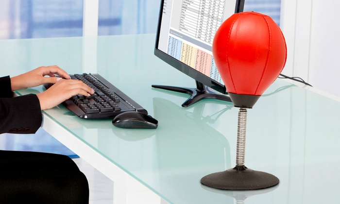 Global Gizmos Desktop Punch Bag