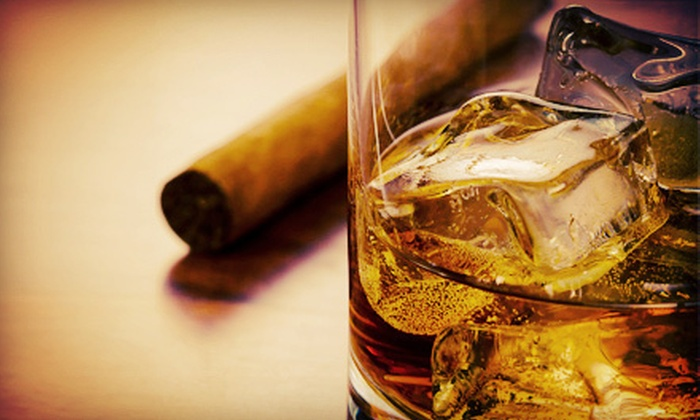 The Robusto Room - Lone Tree: Scotch Flights for Two with Optional Cigars, or $15 for $30 Worth of Drinks at The Robusto Room