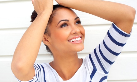 One or Two Laser Teeth-Whitening Treatments and Touchups at Forever Laser Spa (Up to 74% Off)