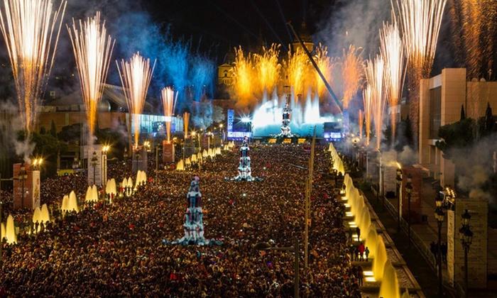 Jour De L An A Barcelone En Mode Nuit Blanche Groupon Getaways