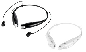 Universal Wireless Bluetooth Necklace In Ear Headset