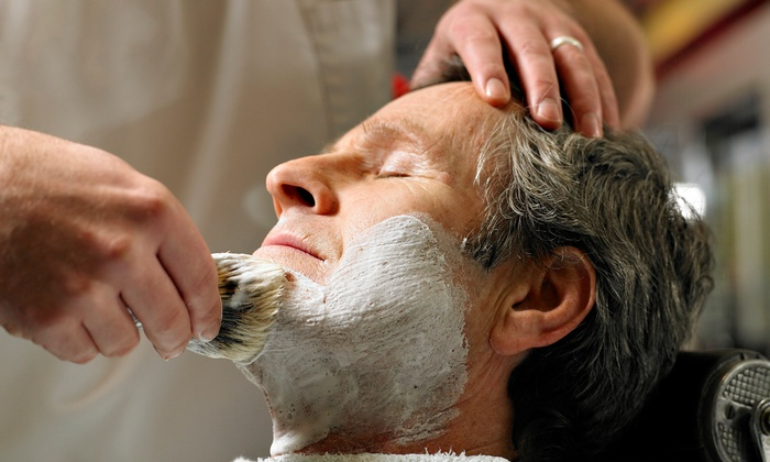 Roosters Men's Grooming Center - Woodbury, MN - Woodbury: Men's Grooming Services at Roosters MGC of Woodbury (Up to 53% Off). Three Options Available.