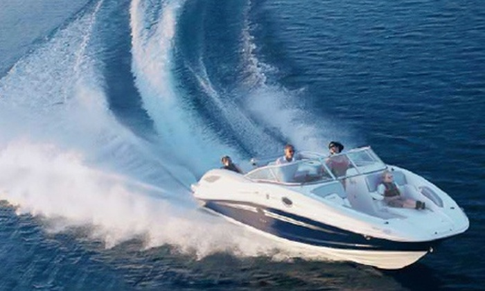 Carefree Boat Club - Multiple Locations: $169 for Four-Hour Boat Rental for Four from Carefree Boat Club ($435 Value)