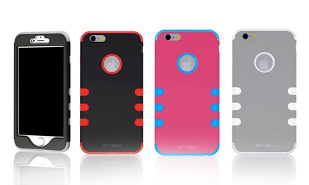 Bytech Tough Fit Case for Apple iPhone 6, 6 Plus, Samsung Galaxy S4, or S5