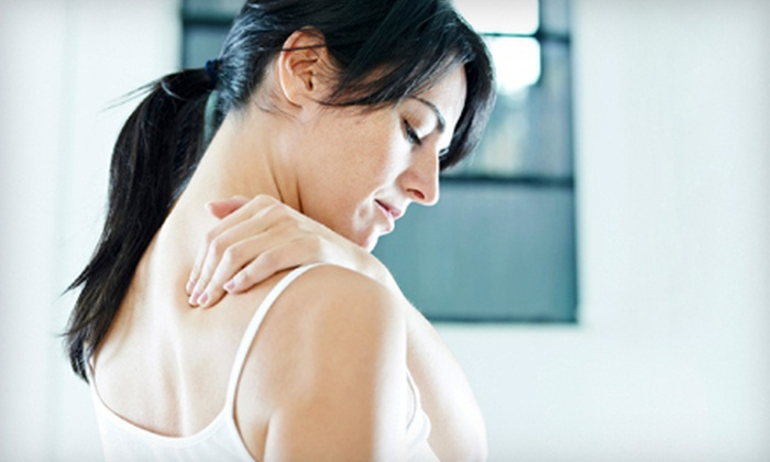 Balance Your Life Chiropractic - DeWitt: $45 for a Chiropractic Package with 60-Minute Massage at Balance Your Life Chiropractic ($150 Value)