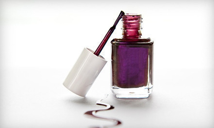 The Nail House - DePaul: $38 for Two Mani-Pedis or Two No-Chip Manicures at The Nail House (Up to $80 Value)