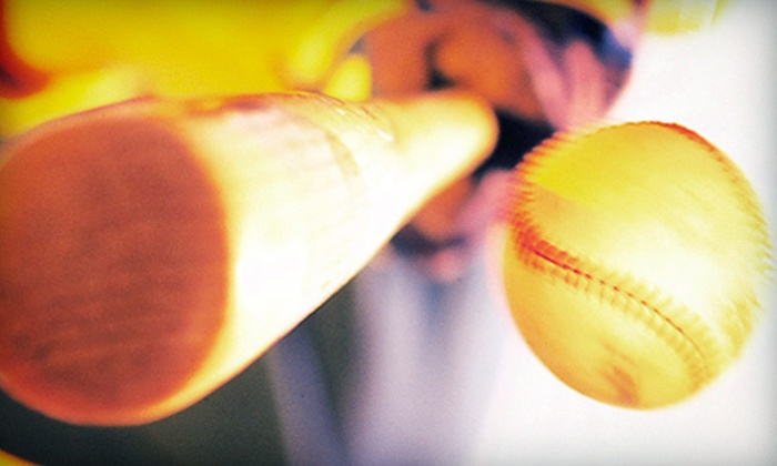 Airport Golf & Batting Center - Tumwater: $15 for 20 Batting-Cage Tokens at Airport Golf & Batting Center ($30 Value)