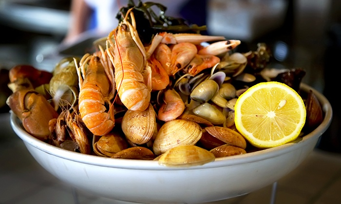 The Rim Seafood - The Rim Seafood: $30 for $50 Worth of Seafood at The Rim Seafood