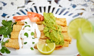 Azteca Mexican Restaurant: Mexican Food and Drinks for Two or Four or More at Azteca Mexican Restaurant (40% Off)