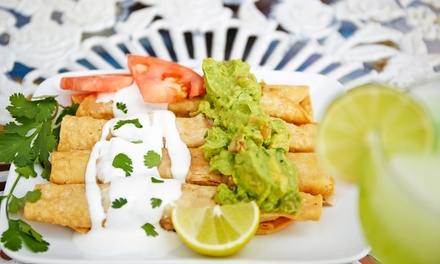Mexican Food and Drinks for Two or Four or More at Azteca Mexican Restaurant (40% Off)