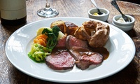 Sunday Roast for Two at The Exeter Inn