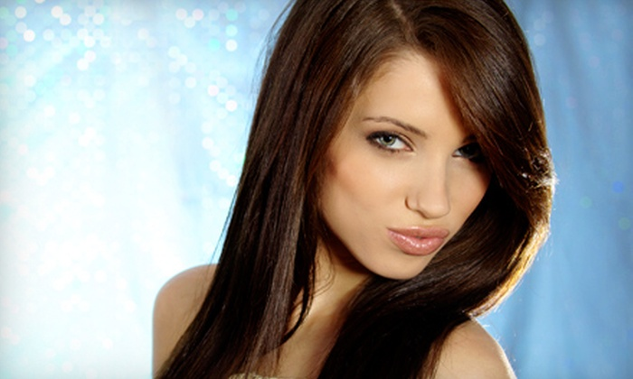 Sharp Styles Salon - St. Charles Community College: Keratin Treatment or Cut with Style, Conditioning, and Full or Partial Highlights at Sharp Styles Salon (Up to 62% Off)