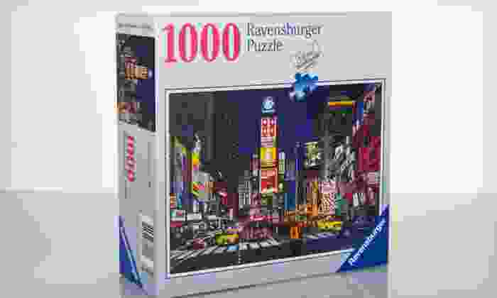 Ravensburger Puzzles: Ravensburger Puzzles (Up to 67% Off). Five Puzzles Available.